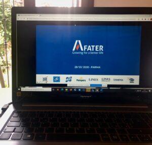 diapositiva di presentazione testimonianza Fater