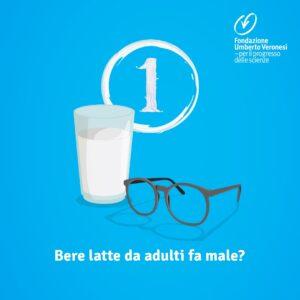 Bere latte da adulti fa male?